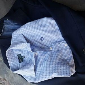 Ralph Lauren Shirt and Nordstrom Jacket